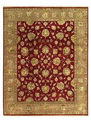 Hand-Knotted Harrir Select Wool & Silk Rug, Beige, 8' 1