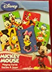 Disney MICKEY MOUSE Playing Cards: Bicycle Brand....