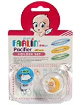 Farlin Orthodontic Pacifier Set with Chain