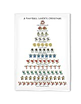 Football Lover's Christmas Kitchen Towel