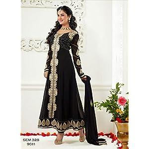 Latest Black Designer Long Anarkali Suit
