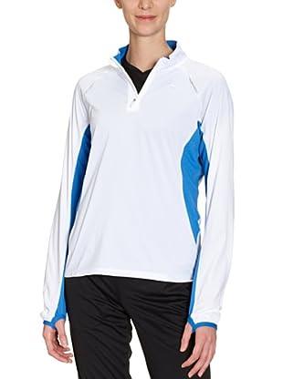 PUMA Langarmshirt Half Zip (Weiß)