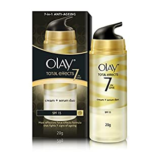 Olay Total Effects 7-In-1 Anti-Ageing Cream + Serum Duo SPF 15, 20g