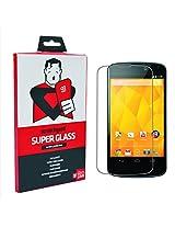 Scratchgard Super Glass Screen Protectors for LG Google Nexus 4 E960 (Front & Back)