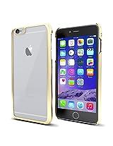 MTT® iPhone 6S / 6 Case Slim Fit Apple Logo Display Premium PC Case (ELECTRO GOLD)