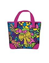 Simba Color Me Mine Pink Fashion Bag, Multi Color