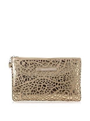 Ivanka Trump Women's Ivanka Pebble Lasercut Slim Case, Gold