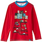 Nauti Nati Boy's T-Shirt (NAW14-575_Red_9y)