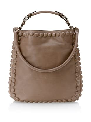 MARNI Women's Studded Shoulder Bag, Grey