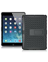 Minisuit Hybrid Kickstand Case for iPad Air (Black)