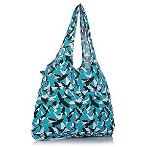Be For Bag Aqua Blue 100% Cotton Handbag