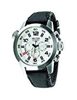 Sector Black Analog Men Watch R3271702 045