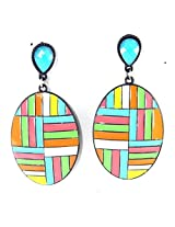 Multi-color Springs Crush Earrings