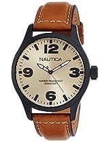 Nautica Analog Beige Dial Men's Watch - NTA12626G