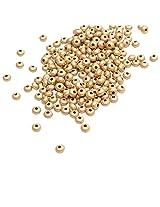 Buy 1 Get 1 Free- Foppish Mart Smooth Golden Seed beads