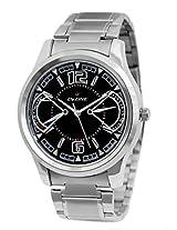 Dezine Men's Analogue Black Dial Watch -DZ-GR800-BLK-CH