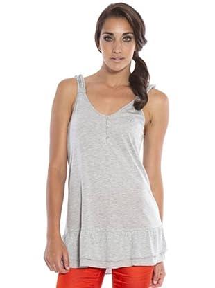 PEDRO DEL HIERRO Camiseta Tirantes (gris)