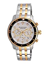 Giordano Chronograph White Dial Men's Watch - P167-44