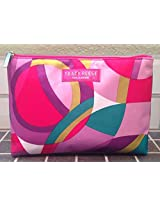 Clinique Pretty Cosmetic Makeup Purse Bag Designed By Tracy Reese