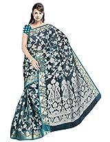 Saree Sansarr Saree (6031_Blue)