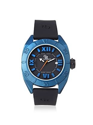 Giulio Romano Men's 6000-15-003 Termoli Black/Blue Rubber Watch