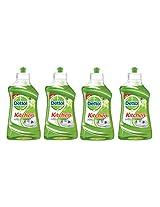Dettol Kitchen Dish and Slab Gel - 200 ml (Lime Splash, Pack of 4)
