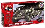 Airfix 1:72 Willys British Airborne Jeep Kit ()