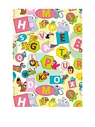 Ambiance Sticker Vinyl-Teppich Alphabet Letters And Animals