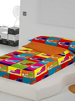 Euromoda Lencería Saco Nórdico Con Relleno Zapatillas (Multicolor)