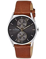 Skagen Holst Analog Grey Dial Men's Watch - SKW6086I