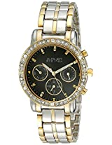 August Steiner Women's AS8041TTG Analog Display Swiss Quartz Two Tone Watch