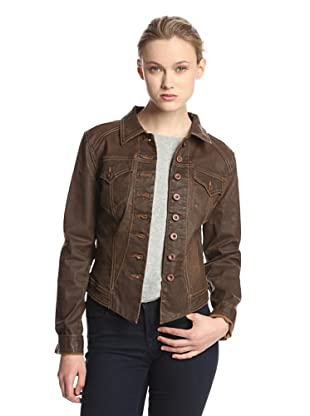 Agave Women's Outlaw Coated Jean Jacket (Durango)