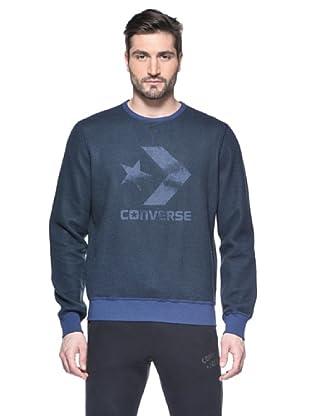 Converse Sudadera Crew (Azul)