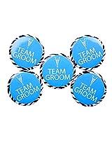 Team Groom Badge (Set of 5)