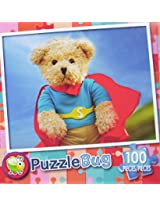 Puzzle Bug 100 Piece Puzzle ~ Super Bear