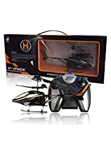 Nds V Max Remote Control Helicopter For Kids (6 Aa Batteries Included) + 3X3 Rubik'S Cube Free(Black)