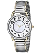 Anne Klein Women's 10/9111MPTT Easy-to-Read Silver-Tone Expansion Bracelet Watch
