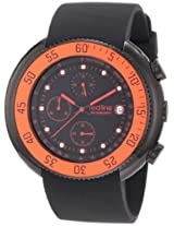 Red Line Watches, Men's Driver Chronograph Black Dial Black IP Case Black Silicone, Model 50038-BB-01-RDBZ