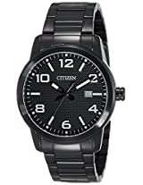 Citizen Analog Black Dial Men's Watch - BI1025-53E