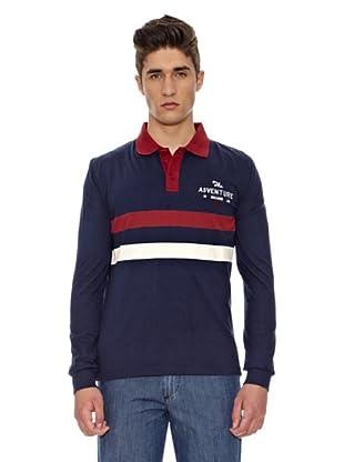Carrera Jeans Polo Recto (Azul)