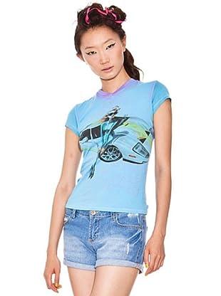 Custo Camiseta (Azul Claro)