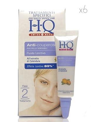 HQ Kit De 6 Productos Fluido Lenitivo Anti rojeces 15 ml cad.