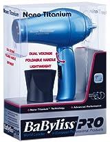 Babyliss Pro Nano Titanium Compact Foldable Dryer