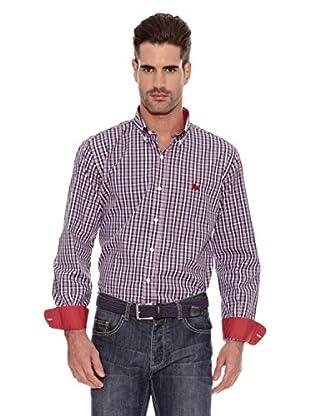 Toro Camisa Estampada (Rojo)