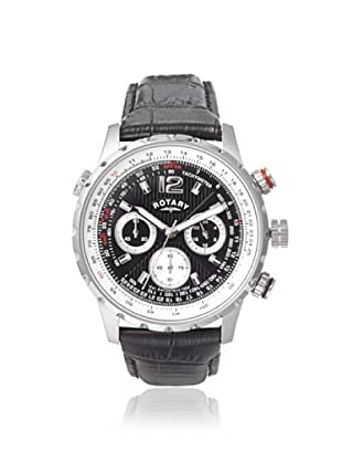 Rotary Men's GS00120-04 Black Leather Watch