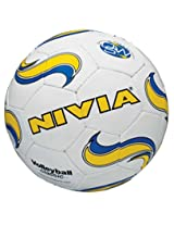 Nivia Classic Volleyball, Size 4 (White)