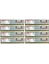 Komputerbay 16GB (8x 2GB) DDR2 PC2-5300F 667MHz CL5 ECC Fully Buffered 2Rx4 FB-DIMM (240 PIN) w/ Heatspreaders