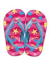 Stephen Joseph Mermaid Toddler Flip Flops, Multi Color