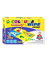 Apple Fun Colour And Wipe- Alphabets And Numbers