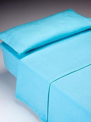 Chiquis Juego de Sábanas Basicpir (Azul)